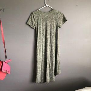 LuLaRoe Dresses - Lularoe • Carly Green grey dress